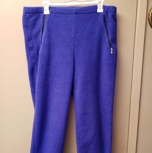 Vintage L L Bean Mens Sz. MEDIUM Fleece Ski Pants!